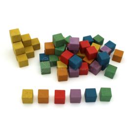RE-Wood® Rekenblokjes 2 x 2 x 2cm, set van 150