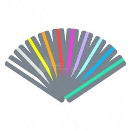 Ashley Leesliniaal met gekleurde leeswijzer, smal, 10 stuks