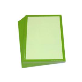 Gekleurde wisbordjes A4, 30 stuks