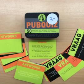 Pubquiz - kaartspel in blik (gebruikt)