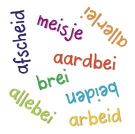 Het SPELSPEL - ei woorden (PDF-bestand)