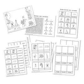 Spellingkleurplaten - Blok 4 - het stripboek (PDF-bestand)