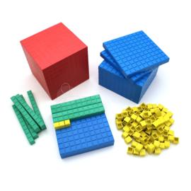RE-Plastic® MAB materiaal: Leerlingenset (121 delig)