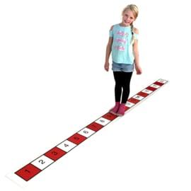 Getallenlijn mat, 1-20 (even en oneven)