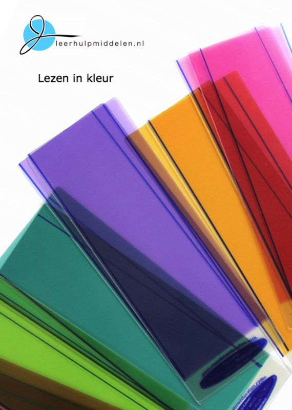 """""""Lezen in kleur"""" brochure"""