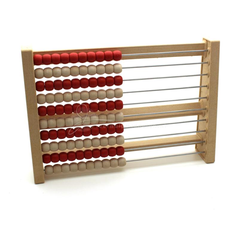 RE-Wood® Rekenrek tot 100