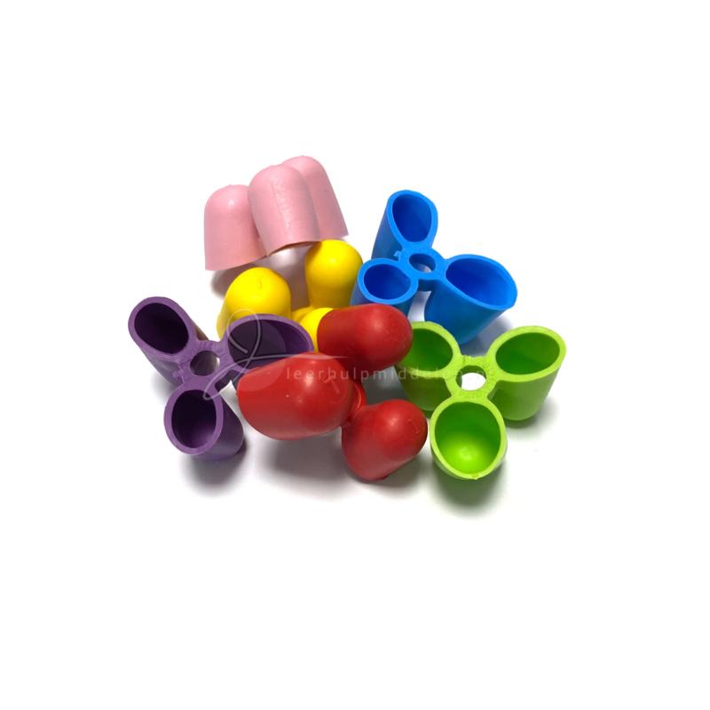 Writing Claw klein voor 2-6 jarigen, set van 6 stuks
