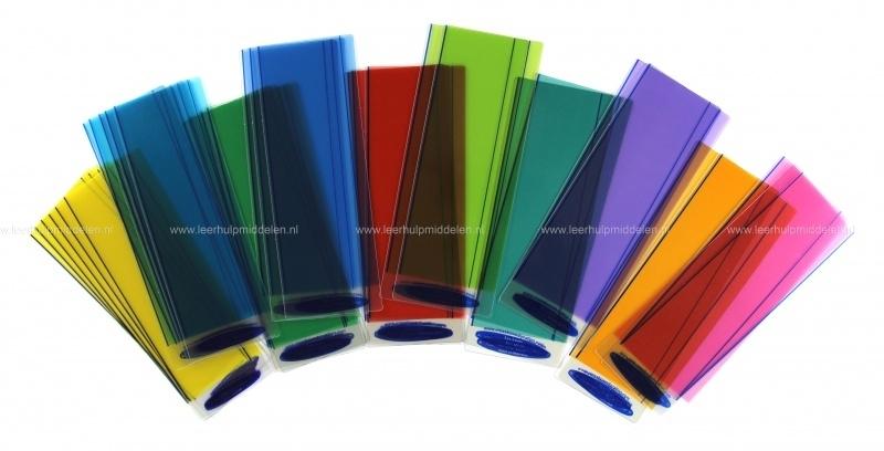 Crossbow Gekleurde Leesliniaal versie 2, 30 stuks