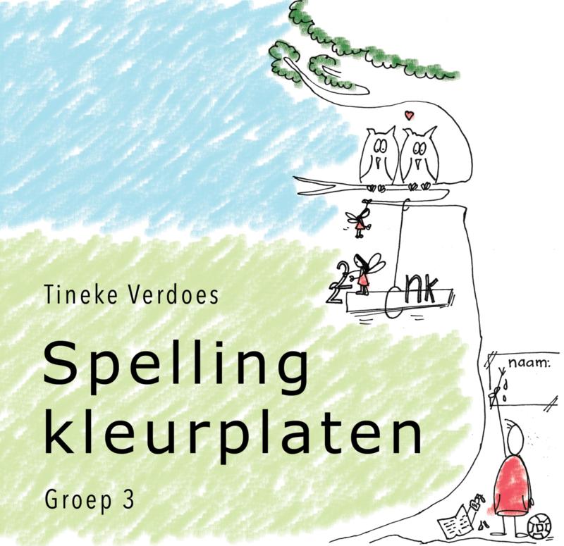 Spellingkleurplaten - pakket