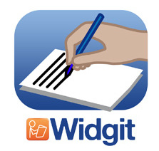Widgit Writer app