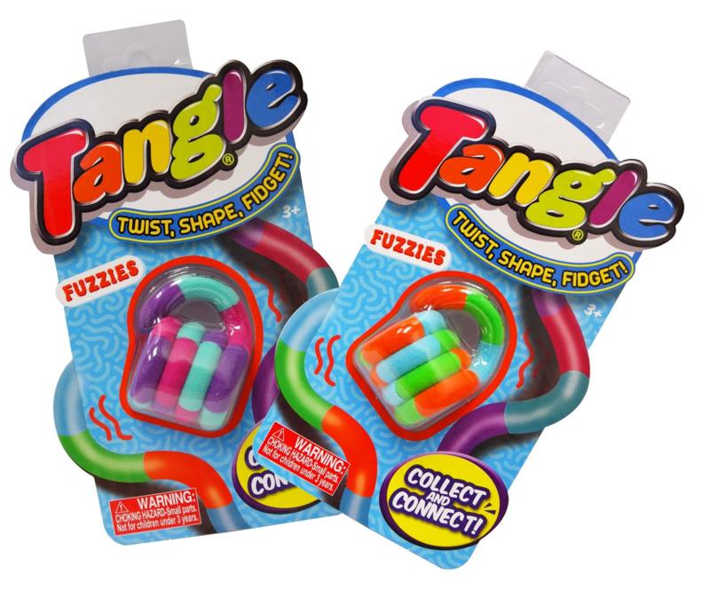 Tangle Junior Fuzzies (blisterverpakking)