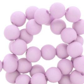 30 x 8 mm acryl kralen French pink