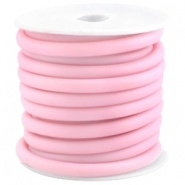 20cm hol Rubber DQ koord 5 mm Vintage Rose