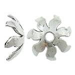 10 x Prachtig mooie Tibetaans zilveren kralenkap 15 x 15 x 5,5mmgat 2.5mm