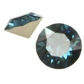2 x Swarovski Elements SS24 puntsteen (5.2mm) Montana blue