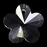 Prachtige kristal facet Hanger bloem 18 x 17 x 9mm gat 1mm