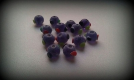 5 x glaskraal High Quality Glass Hand Made Bead 12 mm