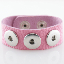 Armband roze 26 cm
