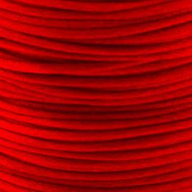 2 meter Macrame Satijndraad 1.0 Candy Red