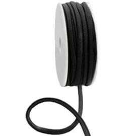 c.a. 50 cm Stitched elastisch lint Ibiza Black