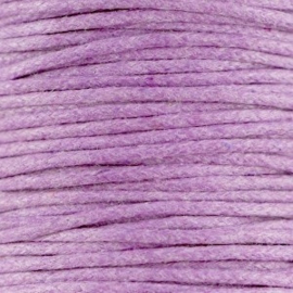 10 meter Waxkoord 1.5 mm Violet lila