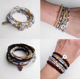 Armbanden:chan luu style armband en wikkelarmband ♥