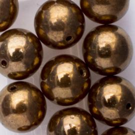 Gütermann regenboogkralen 8mm c.a. 16 stuks brons