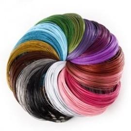 100 mix spangen assortiment verschillende kleuren 46cm  (Geen keuze mogelijkheid)