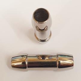 2 stuks DQ RVS roestvrij stalen buisjes 36 x 11mm Gat: 7mm