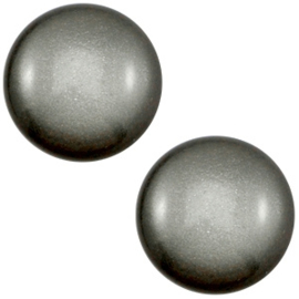 1 x 12 mm classic cabochon Super Polaris Silver night
