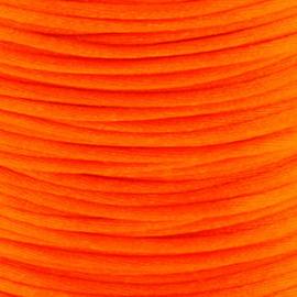2 meter Macrame Satijndraad 1.0 Orange