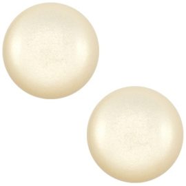 1 x 12 mm classic cabochon Super Polaris Silk beige