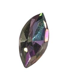 2x Precosia Punt Kristal AB 15 mm