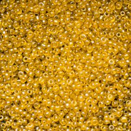20 gram rocailles  licht bruin 12/0 2mm