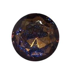 2x Precosia punt kristal Rond 11 mm AB