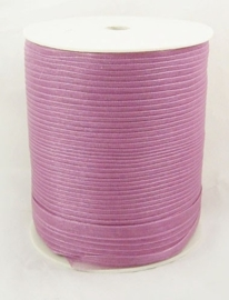 1 meter organza lint 6mm misty rose