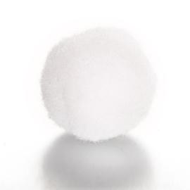 Parfum sponsje 13mm wit