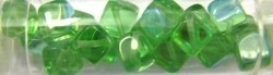 Gutermann kubus 8mm licht groen AB ca 16st