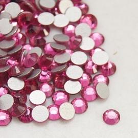 20 stuks (bijvoorbeeld geschikt als tand - nagel) kristallen 1.8mm  Rose