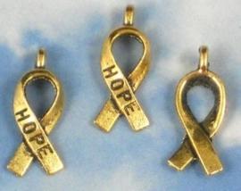 4 x Hope Bedel 6 x 12mm goudkleur ♥