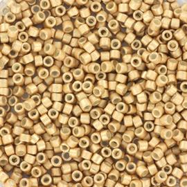 5 gram Delica 11/0 Miyuki Galvanised Champagne semi mat