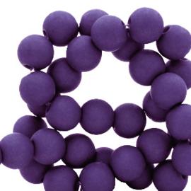 30 x 8 mm acryl kralen Dark purple