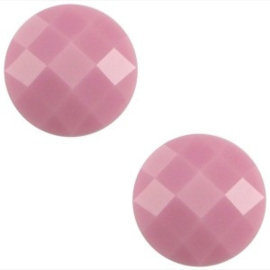 2 x Basic cabochon 10mm Pale pink