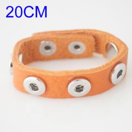 Armband oranje 20 cm