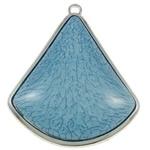 Prachtige hanger voor bijvoorbeeld een sjaal of ketting 69 x 80 x 10,50mm gat: c.a.: 5 x 3,5mm