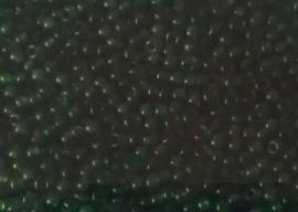 20 gram rocailles groen 1 x 2 mm