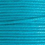 10 meter waxkoord 1,5mm dik kleur: Dark Turquoise