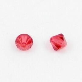 10 x Swarovski kristal bicone 8mm Padparadsha