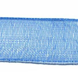 Organza Lint 10 mm per 5 meter Blauw