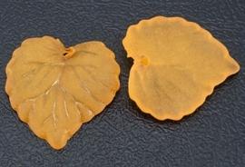 Bladeren kralen acryl